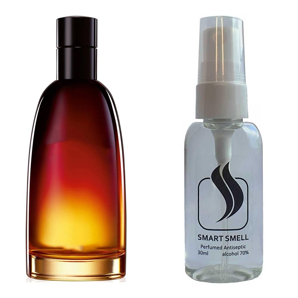 Антисептик с парфюмом 30 мл с аналогом Christian Dior, Fahrenheit (Кристиан Диор, Фарингейт)