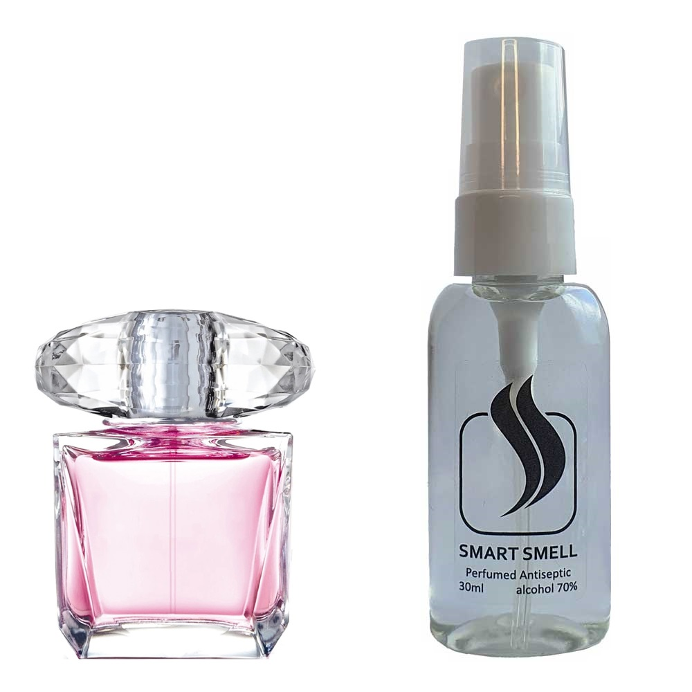 Антисептик с парфюмом 30 мл с аналогом Versace, Bright Crystal (Версаче, Брайт Кристал)