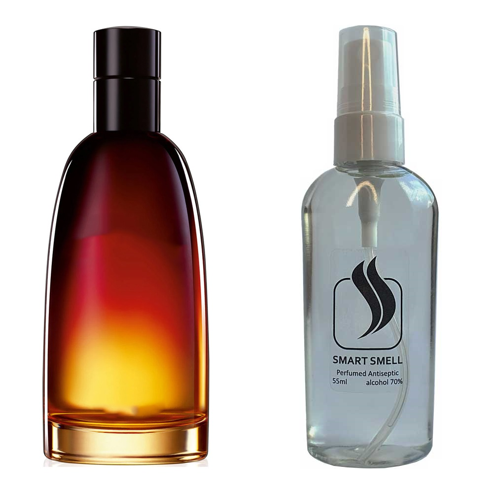 Антисептик с парфюмом 55 мл с аналогом Christian Dior, Fahrenheit (Кристиан Диор, Фарингейт)