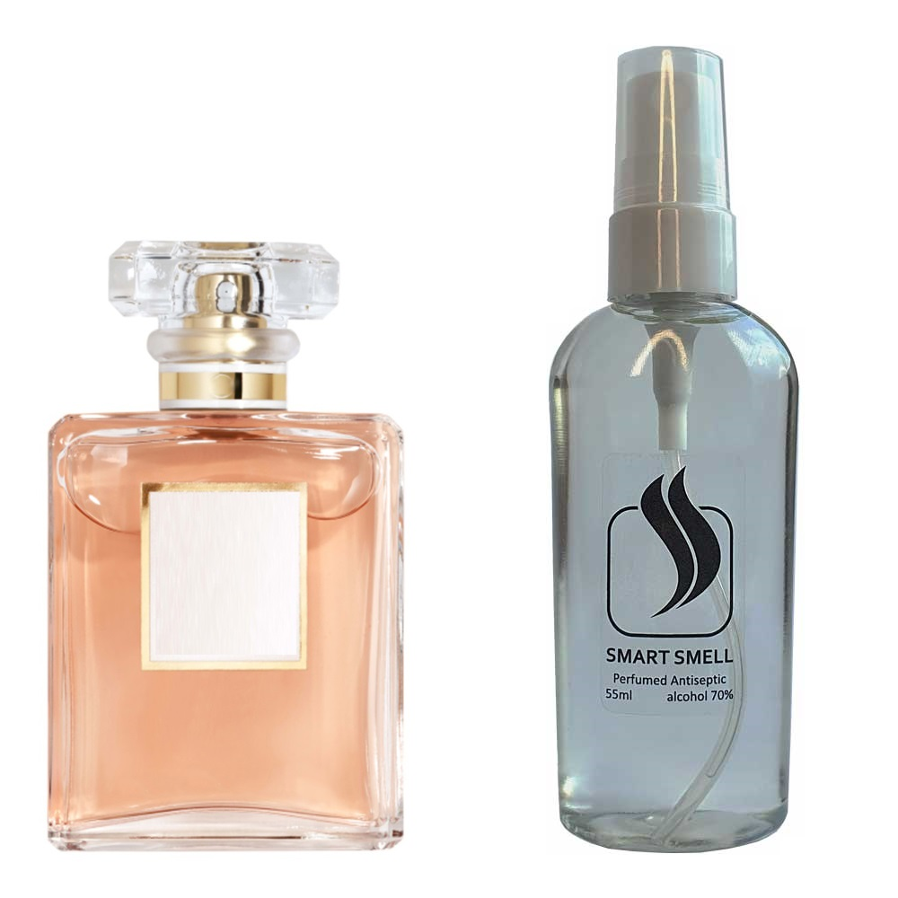 Антисептик с парфюмом 55 мл с аналогом Chanel, Coco Mademoiselle (Шанель, Коко Мадмуазель)