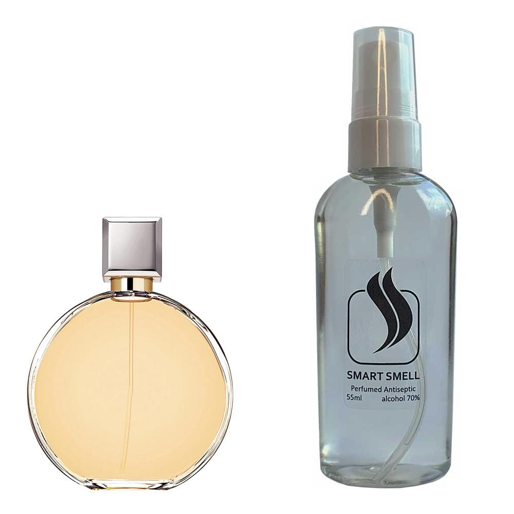 Антисептик с парфюмом 55 мл с аналогом Chanel, Chance (Шанель, Шанc)