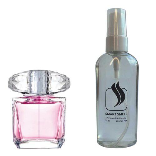 Антисептик с парфюмом 55 мл с аналогом Versace, Bright Crystal