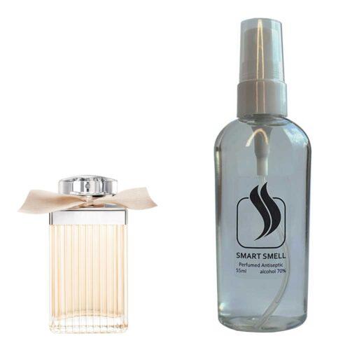 Антисептик с парфюмом 55 мл с аналогом Chloe, Chloe