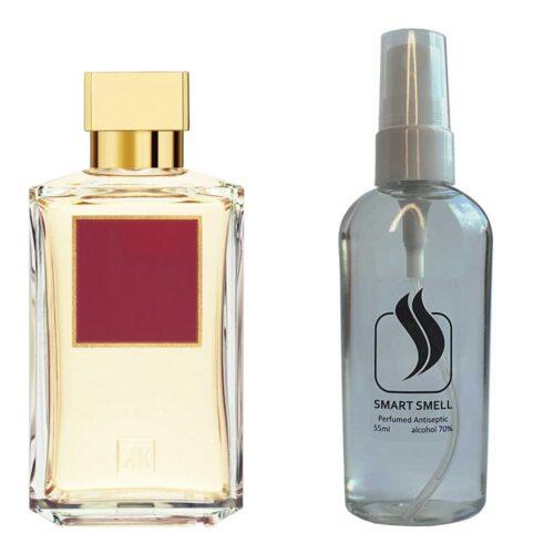 Антисептик с парфюмом 55 мл с аналогом Maison Francis Kurkdjian, Baccarat Rouge 540