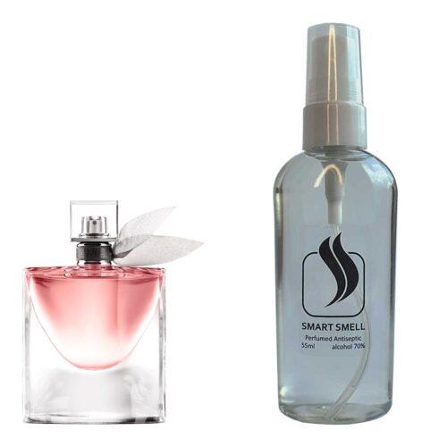 Антисептик с парфюмом 55 мл с аналогом Lancome, La Vie Est Belle