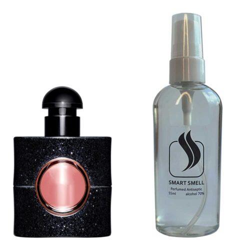 Антисептик с парфюмом 55 мл с аналогом Yves Saint Laurent, Black Opium