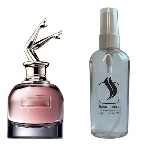 Антисептик с парфюмом 55 мл с аналогом Jean Paul Gaultier, Scandal