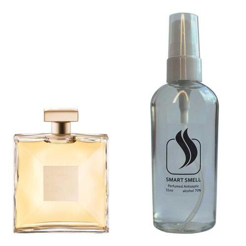 Антисептик с парфюмом 55 мл с аналогом Chanel, Gabrielle