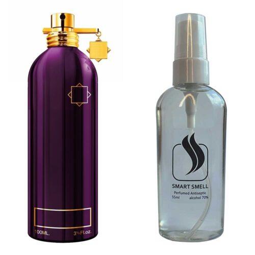 Антисептик с парфюмом 55 мл с аналогом Montale, Dark Purple