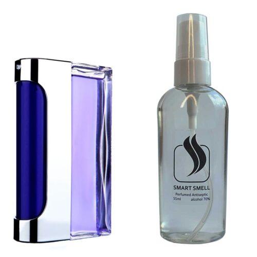 Антисептик с парфюмом 55 мл с аналогом Paco Rabanne, Ultraviolet Man