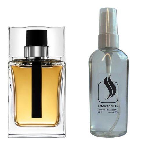 Антисептик с парфюмом 55 мл с аналогом Christian Dior, Dior Homme