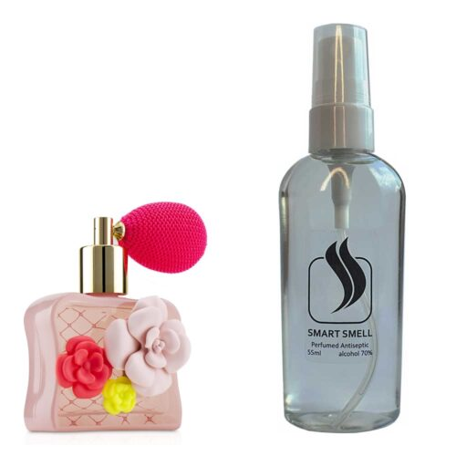 Антисептик с парфюмом 55 мл с аналогом Victoria's Secret, Tease Flower