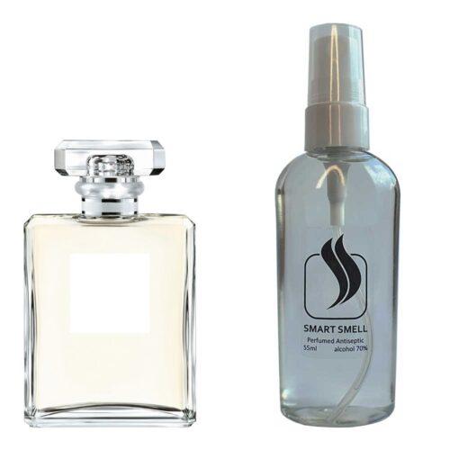 Антисептик с парфюмом 55 мл с аналогом Chanel, Chanel №5 L'Eau