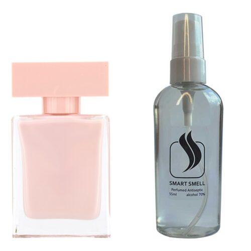 Антисептик с парфюмом 55 мл с аналогом Narciso Rodriguez, Narciso Rodriguez for Her