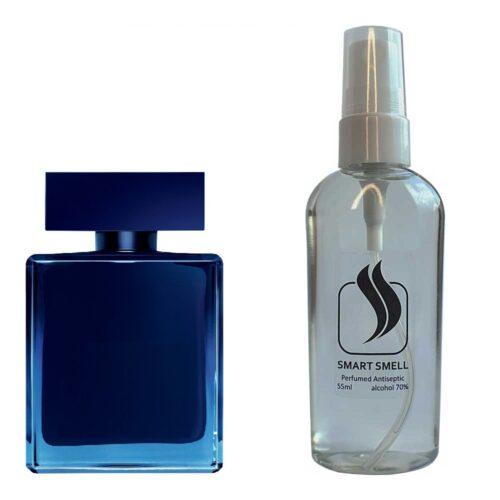 Антисептик с парфюмом 55 мл с аналогом Narciso Rodriguez, Narciso for Him Bleu Noir