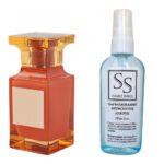 Антисептик з парфумом 55 мл з аналогом Tom Ford, Bitter Peach (Том Форд, Бітте Піч)