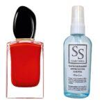 Антисептик з парфумом 55 мл з аналогом Giorgio Armani, Si Passione (Джоржіо Армані, Сі Пешн)