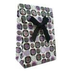 Подарочный пакет из бумаги 7х10 см цветной